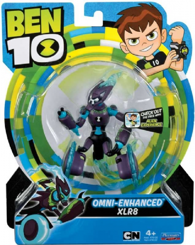 Ben 10 Action Figure - OMNI Enhanced XLR8